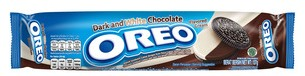 Biscotti Oreo dark and white chocolate ( gusto cioccolato )