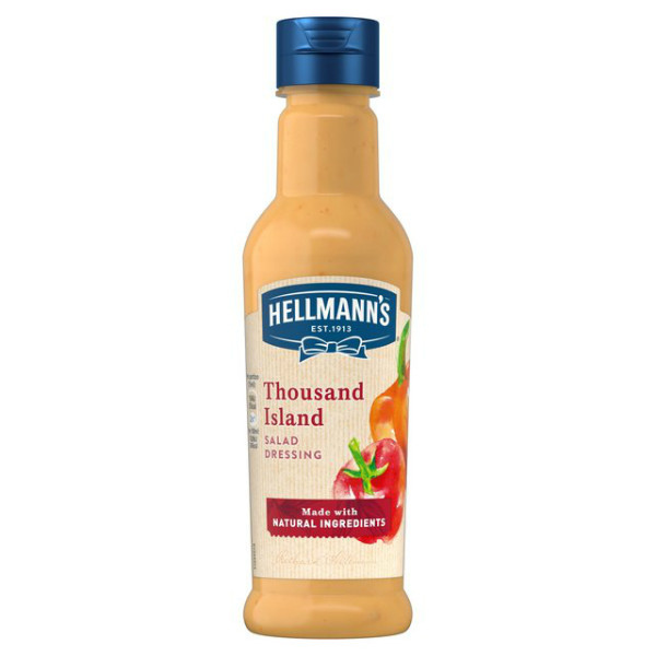 Thousand island dressing Hellmann' s ( condimento per insalate )