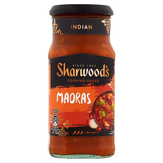 Salsa al curry madras cooking sauce Sharwood's