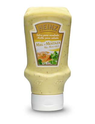 Honey mustard dressing Heinz