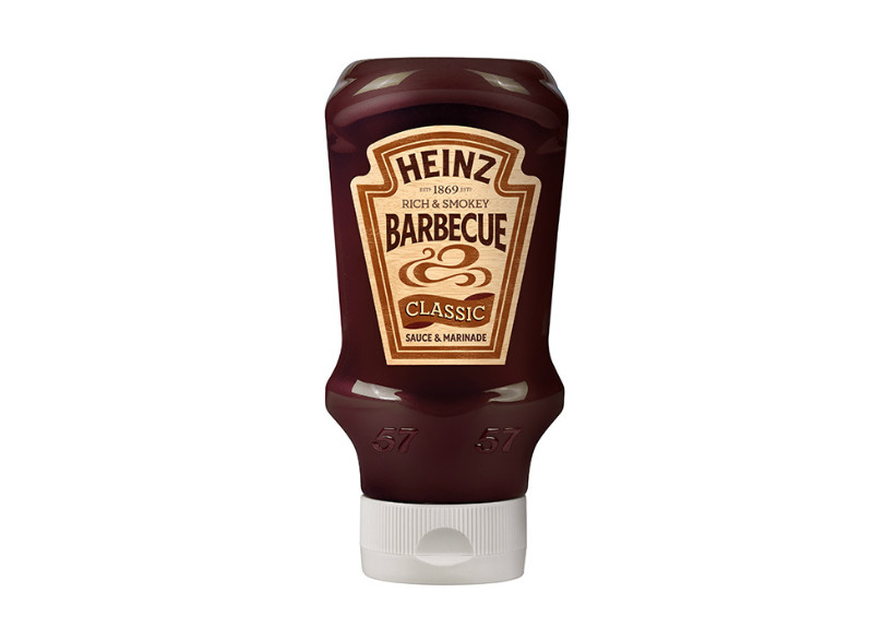 Salsa barbecue Heinz ( barbecue sauce )