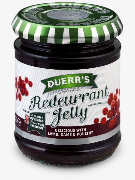 GELATINA DI RIBES ROSSO ( REDCURRANT JELLY ) DUERR'S